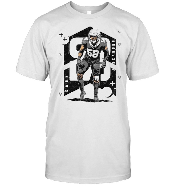 New Orleans Saints Kwon Alexander Number Abstract Shirt
