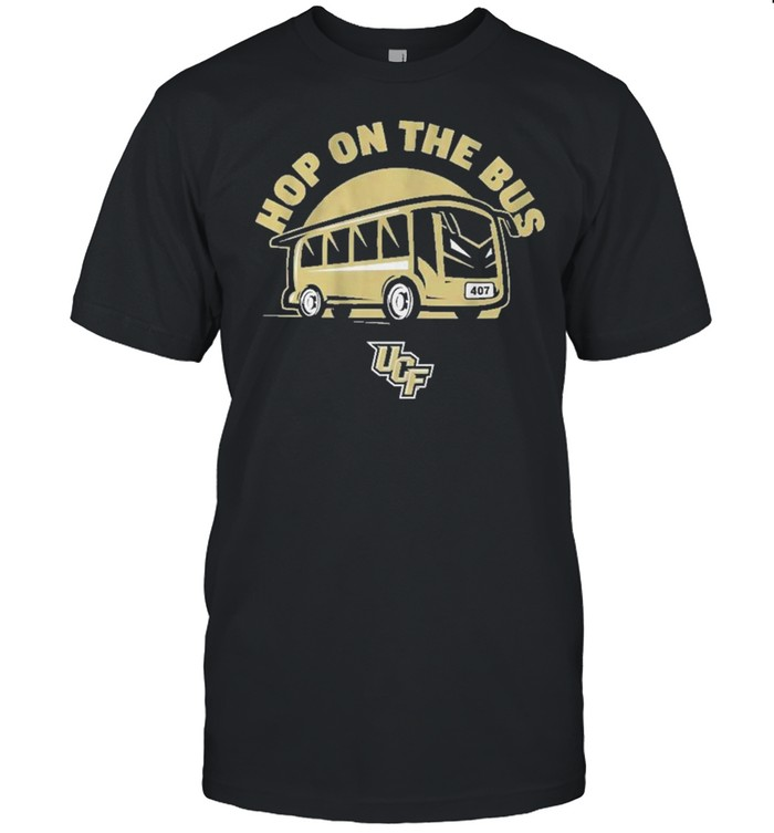 Hop On The Bus Ucf Knights Tee Shirt