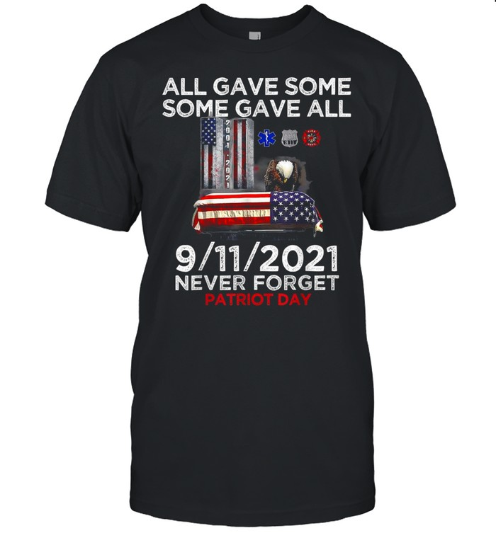 Never Forget 911 20Th Anniversary Firefighters Outfits Shirt