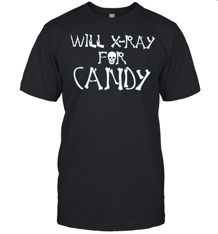 Skull Will X-Ray For Candy Shirt