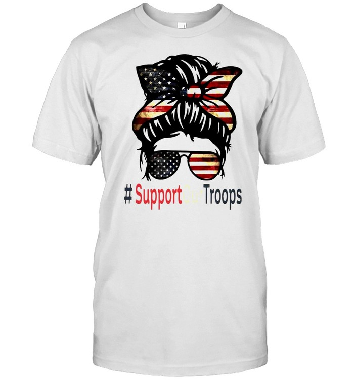 Trump Girl Support Our Troops Shirt