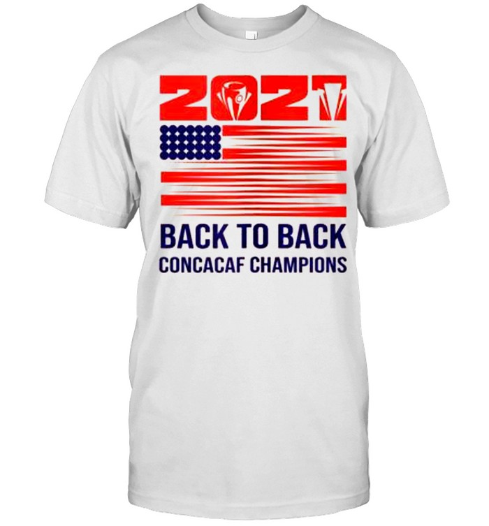 Usa Back To Back 2021 Concacaf Champions Shirt