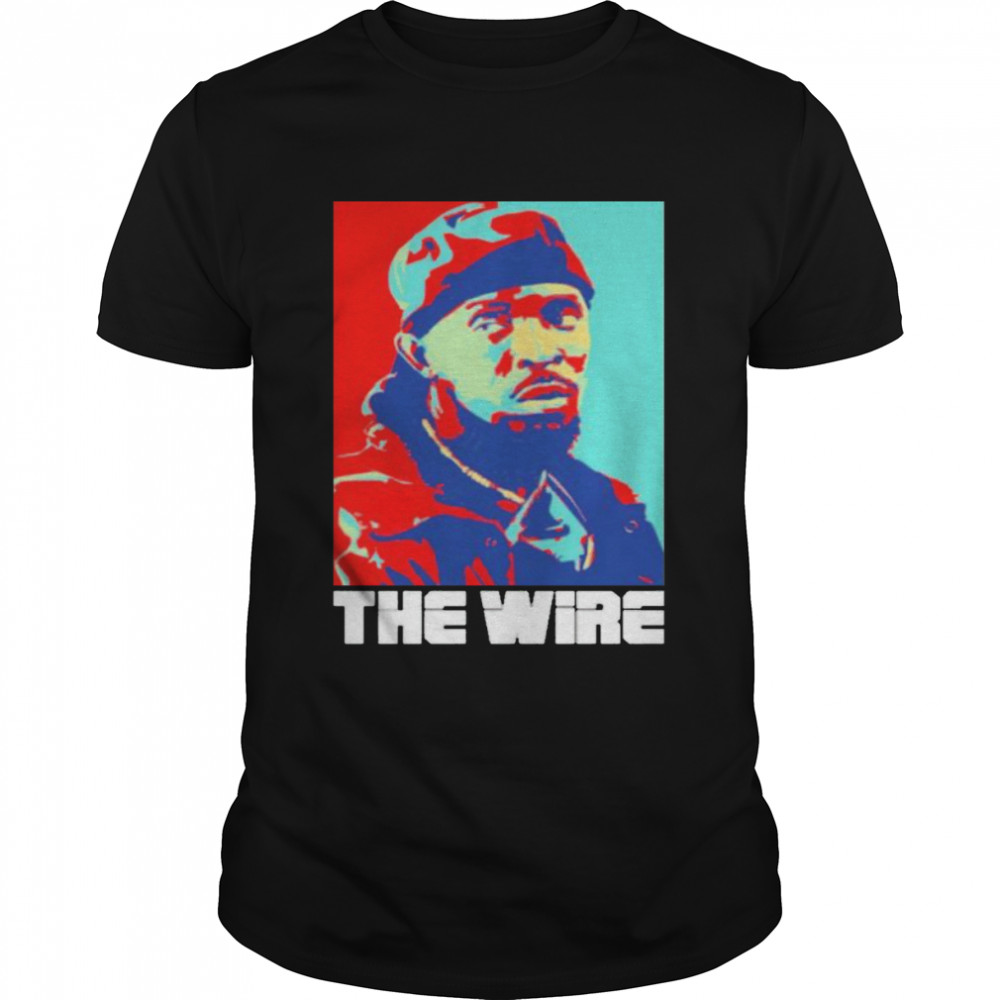 Michael K Williams The Wire Shirt