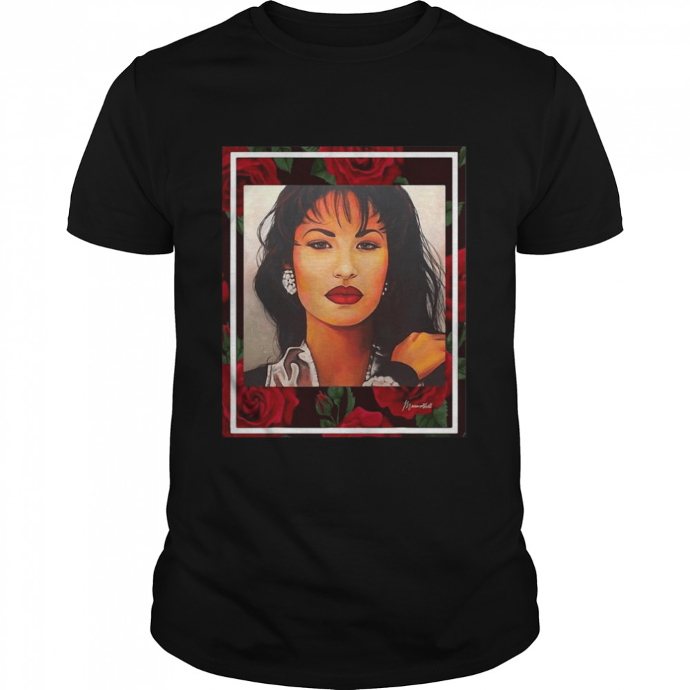 Red Roses Mexican Artist Girl Shirt