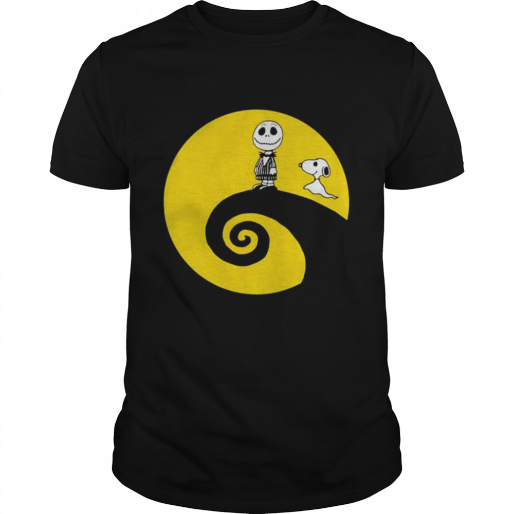 Snoopy And Leatherface Halloween Shirt
