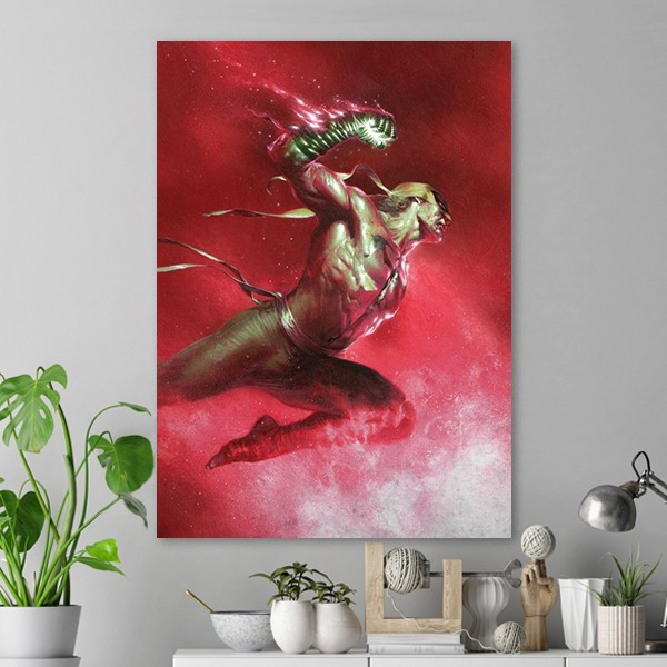 Iron Fist Epic Leap Poster