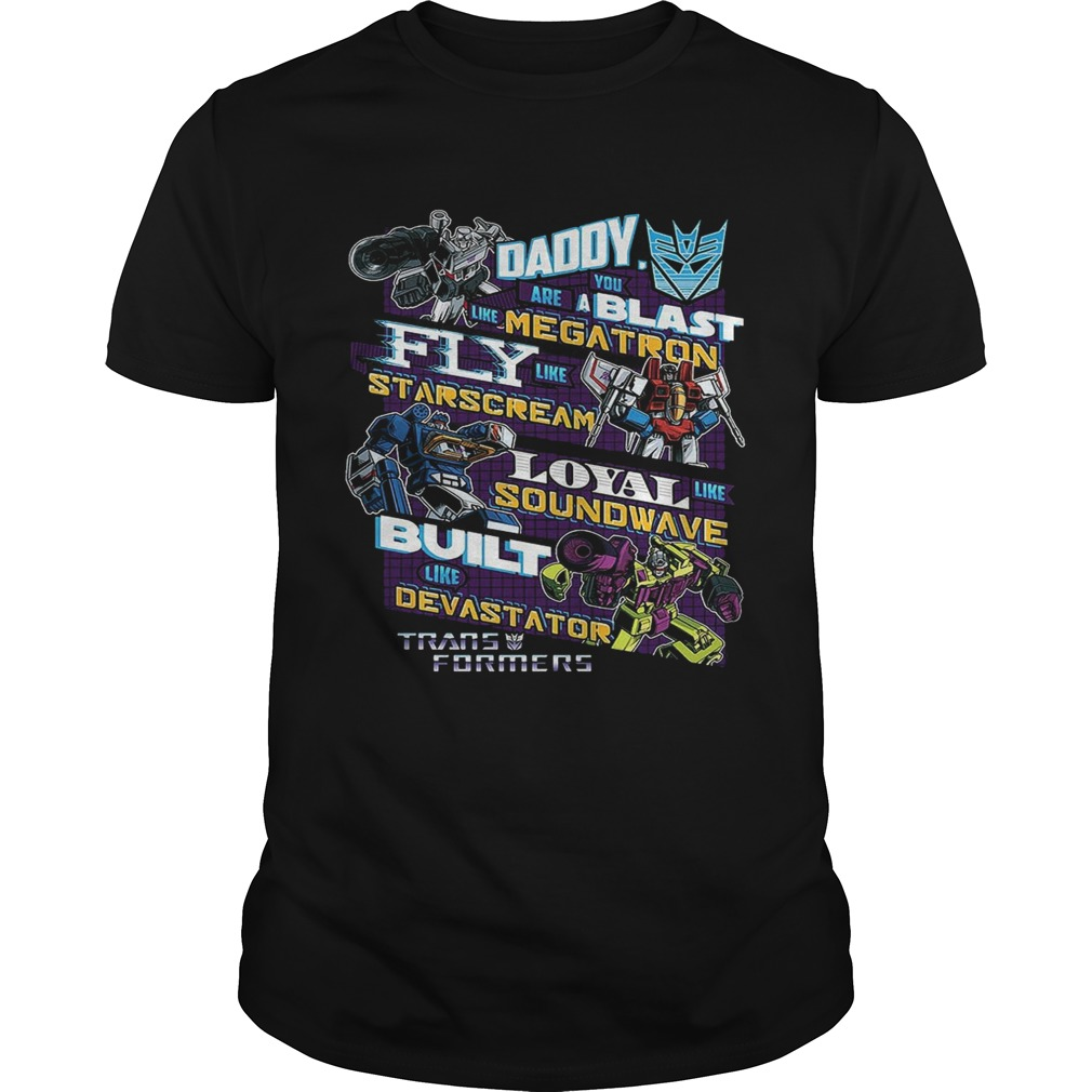 Decepticons Father's Day Transformers Shirt